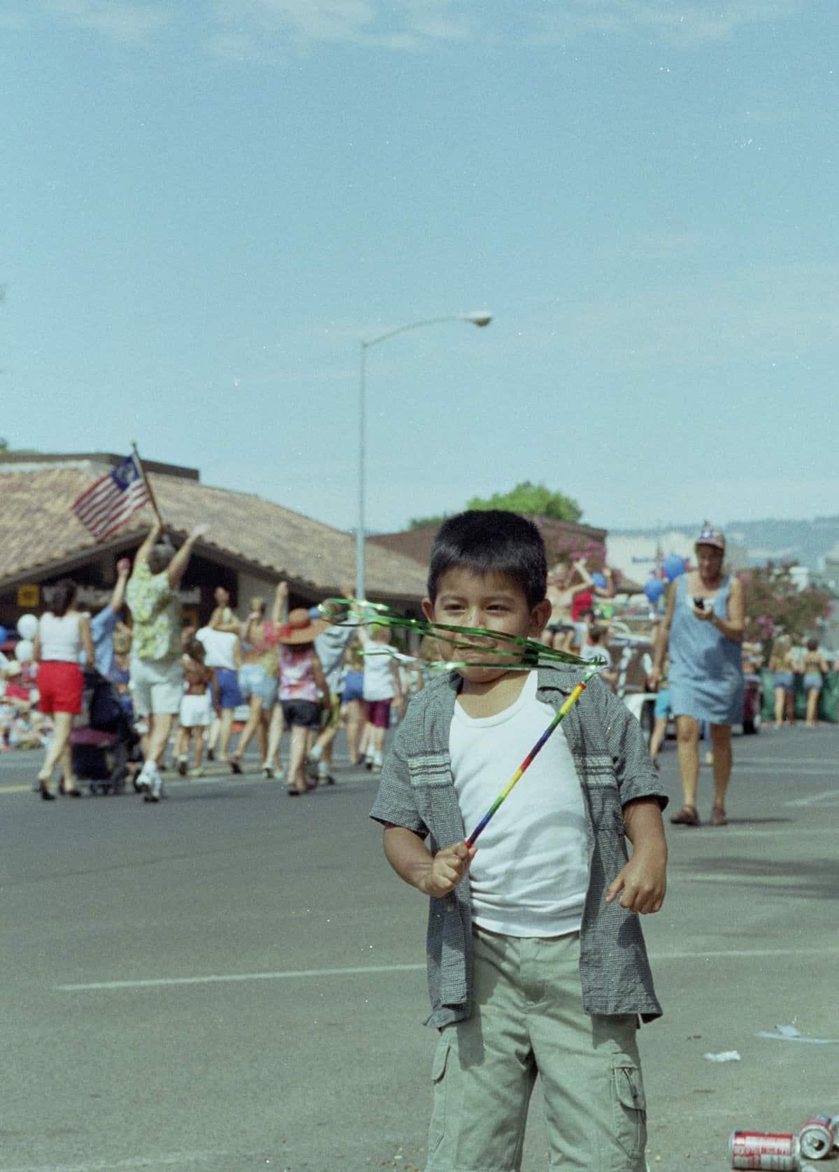 Mexican Boy im USA